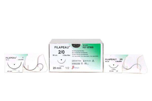 nici chirurgiczne niewchłanialne Filapeau nylon