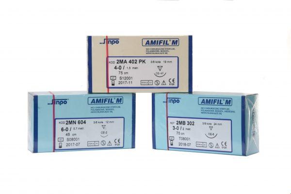nici chirurgiczne niewchłanialne nylon AMIFIL
