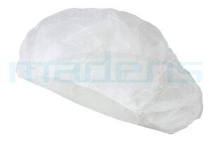 czepek chirurgiczny jednorazowy beret biały C-1