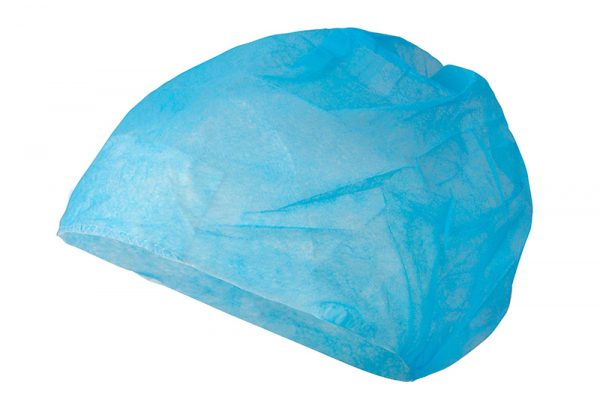 czepek chirurgiczny jednorazowy niebieski C2AA