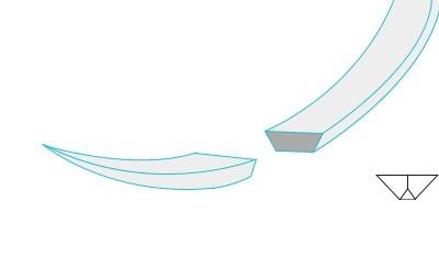 igła mikrochirurgiczna szpatułka