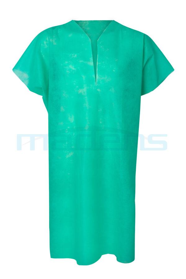 koszula operacyjna zabiegowa dla pacjenta jednorazowa niejałowa