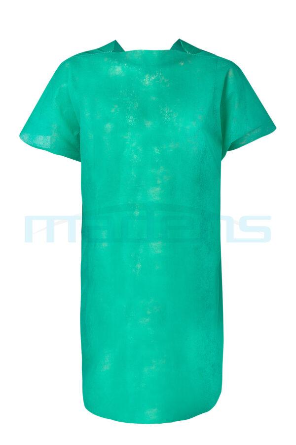 koszula operacyjna zabiegowa dla pacjenta na troki