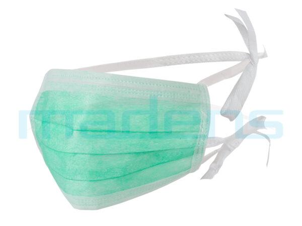 maska chirurgiczna na troki