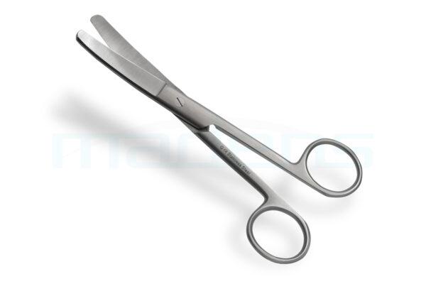 nożyczki chirurgiczne zagięte tepo-tepe