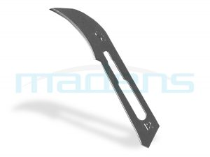 Ostrze, skalpel, nożyk chirurgiczny nr 12