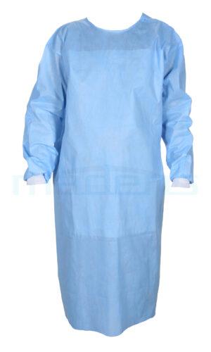 Pełnobarierowy fartuch chirurgiczny, sterylny WZMOCNIONY z włókniny SMMS