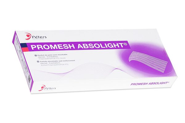 siatka chirurgiczna częściowo wchłanialna Promesh Absolight