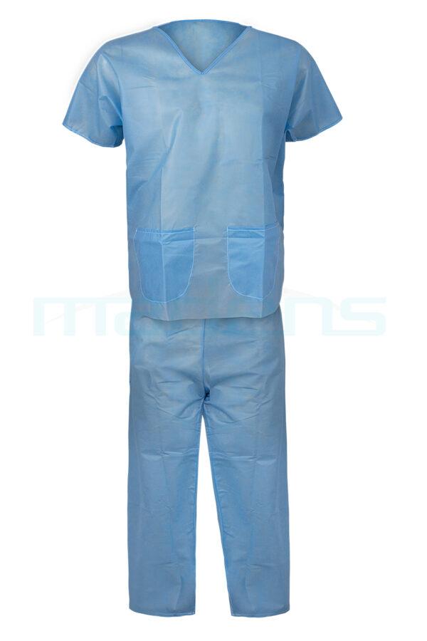 ubranie chirurgiczne operacyjne zabiegowe z włókniny SMS komplet